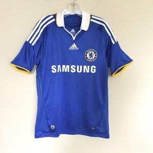 ADIDAS Chelsea FC Soccer Jersey Blue Small